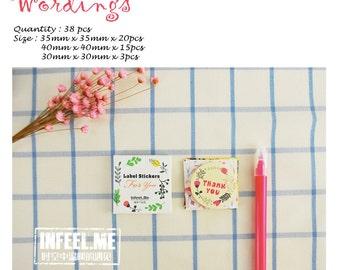 InFeel Wordings Sticker Pack SM312425
