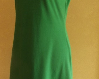 Short sleeve cotton jersey dress- available in 2 lengths & 18 colours