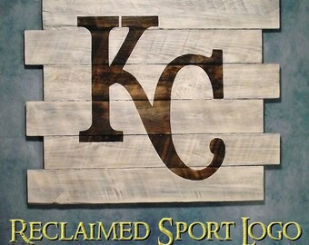 Kansas City Royals,Whitewash, Burnt wall hanging, Shou Sugi Ban, Charred wood, Sports sign, Man cave, Rustic, Pallet wood, Wood Sports sign