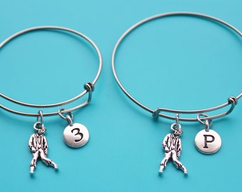 ZOMBIE ADJUSTABLE BANGLE,Initial or Number,zombie bangle,zombie bracelet,zombie,Halloween,undead,science fiction,sci fi,1538