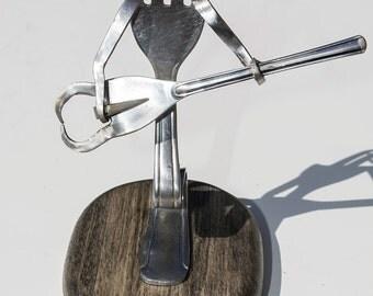 Stainless Steel Fork Guitar Man - 001