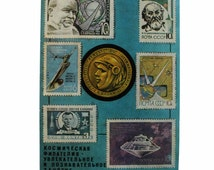 Space philately - A fascinating and educational lesson Soviet Cosmos Post cards Soviet Space post cards 1974th Artist Shevcova