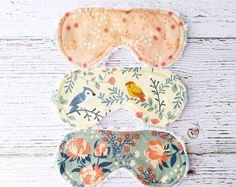 Party Favor - Sleep Mask - Bridesmaid Gift - Wedding Favors - Easter Basket Filler - Eye Mask  - Sleepwear - Travel Mask - Gifts For Her