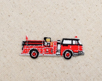 fire truck iron on eBay
