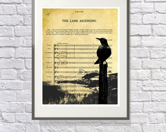 The Lark Ascending Print - Art Gift for the Classical Music Lover