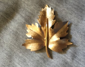 Boucher Maple Leaf Brooch