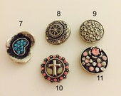 Snap Button Charms for Sn...