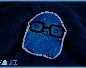 NerdyStars Galaxy Chicks brooch