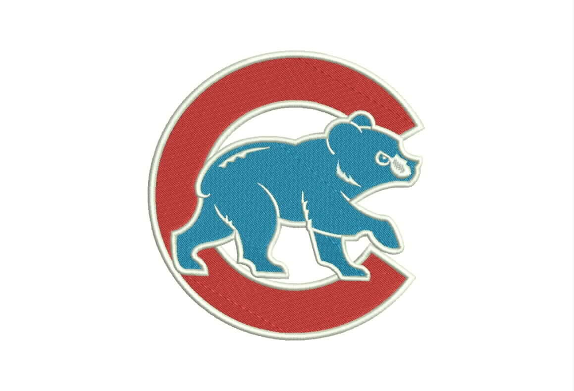 Chicago Cubs Logo Machine Embroidery Designs Baseball By