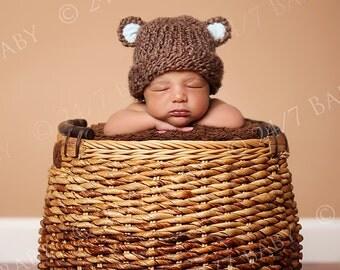 Digital Studio Backdrop Download Natural Basket Prop Newborn Baby Photography