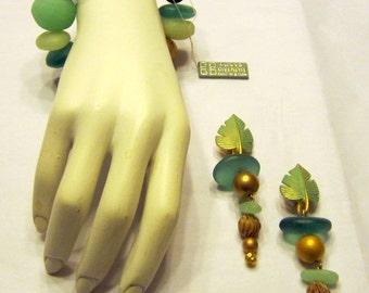 Givenchy Bijoux-Paris/New York-Bracelet and Clip-On Earring Set
