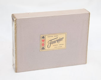 Vintage FOURNIER Playing Cards (Sealed)