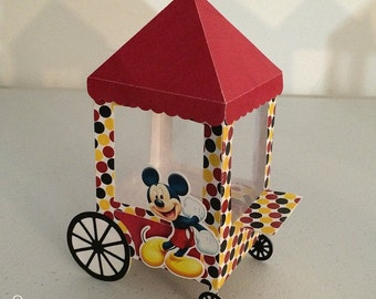 Favor box Mickey Mouse Party 6PC