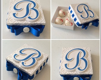 Party Candy truffles box Personalized (brigadeiro) 6pc