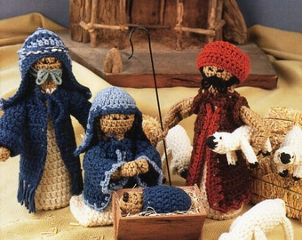 Knitting Patterns Nativity Free : Nativity pattern Etsy