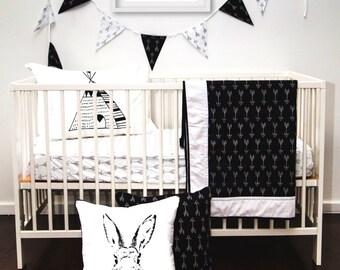 Panda printable, kids room decor, gold glitter printable, panda wall art, minimal nursery, glitter crown, black panda decor