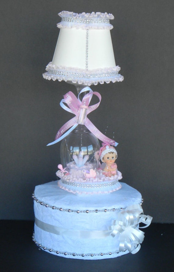 baby shower cake topper baby shower lamp pink girl baby shower lamp