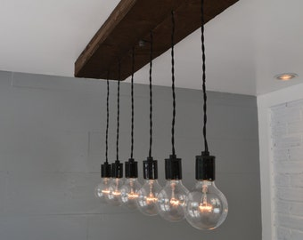 lighting hanging from the ceiling. wood pendant light hanging swag multi fixture lighting from the ceiling