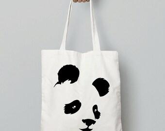 Panda - Canvas Tote Bag