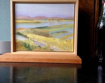Oil-painting Tongplaat