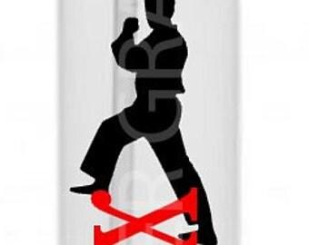 Karate Water Bottle, Karate Gift, Sports Water Bottle