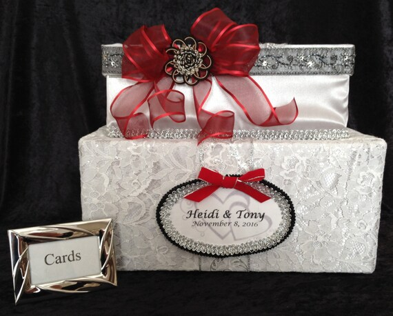 Silver Wedding Gift Card Holder : ... wedding dress,wedding invitation,wedding gift,wedding card holder
