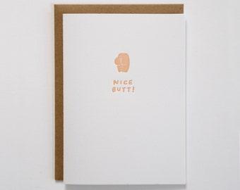 Nice Butt! Card