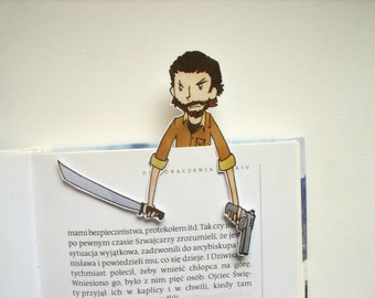 The walking dead Rick Grimes bookmark