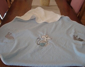 great out of bath for baby embroidery