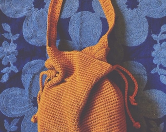 Knit Drawstring Purse