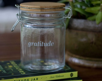 Gratitude Jar Gift Set