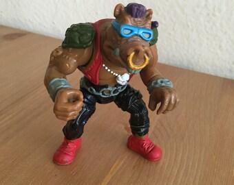 1988 Bebop TMNT Playmates Teenage Mutant Ninja Turtles Action Figure Foot Clan