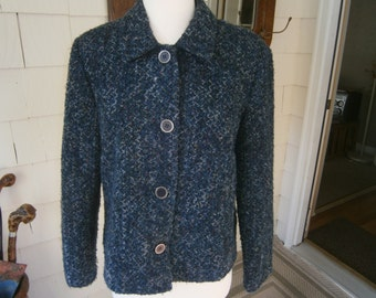 Women's Tweed Jacket - Size 12