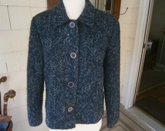 Women's Tweed Jacket - Size 12