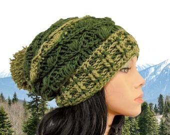 Crochet hat patterns PomPom hat pattern Crochet beanie pattern Crochet slouchy beanie pattern Chunky crochet hat pattern Crochet slouchy hat