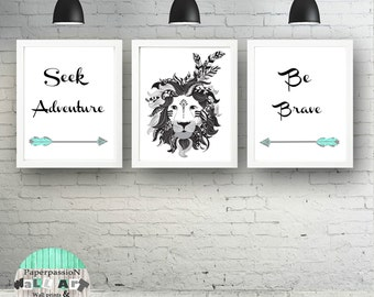 Nursery Prints, Boys prints, Bedroom  Wall Print, Indian Tribal Prints, Arrows prints, Custom sizes,