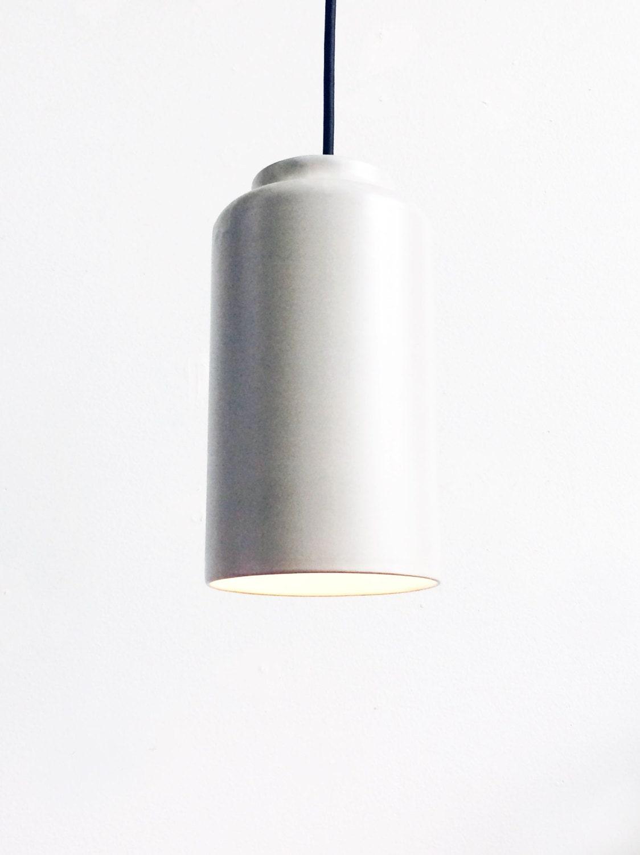 Modern Small Cylinder Pendant Light