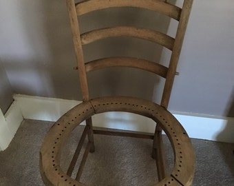 Antique Wood Chair w/Spindles