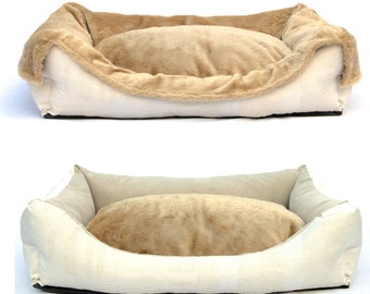 Dog Bed Arctic with Fur Cover