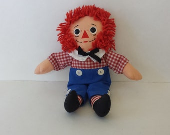 Vintage Raggedy Andy Doll, Collectable Dolls