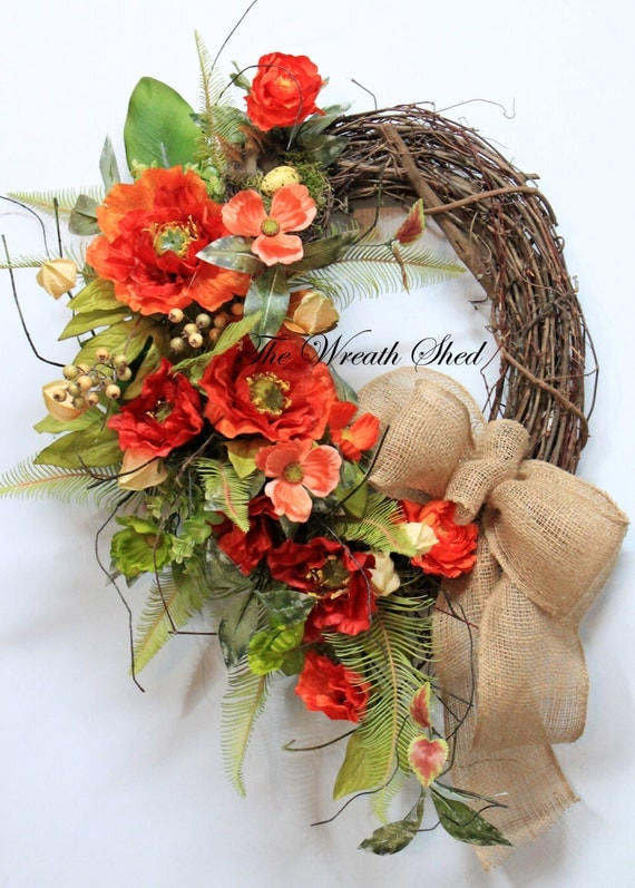 Spring Wreaths For Front Door Rustic