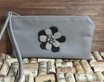 Leather Wristlet & Coin Purses