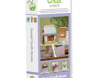 Cricut Projects Sweet Tooth Boxes Cartridge