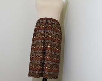 Sundress cotton / jersey tribal / ethnic