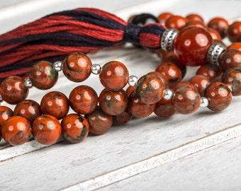 jasper buddhist single men Mens buddha bracelet set - mens bracelet with picture jasper, brass buddha, sandalwood and tulsi wood beads for grounding and meditation.