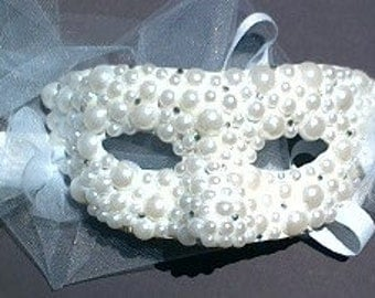White Pearl Mask