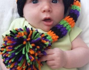 Baby Halloween Hat Newborn Photography Prop Shower Gift Costume