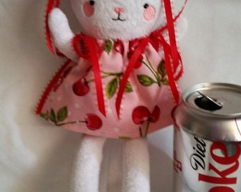 Cherry Pop the snuggle Bunny