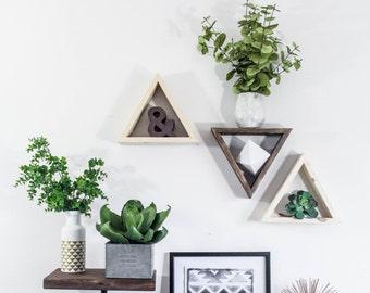 Triangle Shelf TRIO