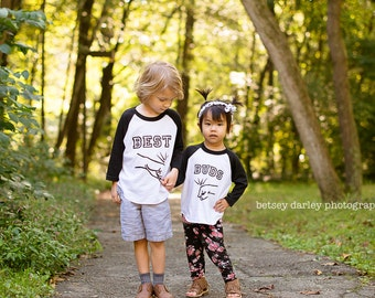 Sibling Shirt Set - Best Friends Shirts - Best Buddies Shirts - Boy Best Friends Shirts - Best Buds Shirts - Fist Bump Shirt - BFF Shirt Set